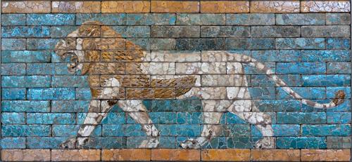Lion 500 louvre